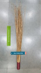 Golden Coconut Stick Broom with Pipe Large, Size: 30 inch