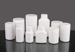 HDPE Plastic Tablet Container