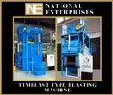 Tumblast Type - Airless Shot Blasting Machine