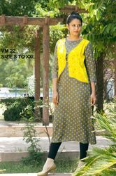 Cotton Anarkali Designer Kurti