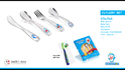 Stainless Steel Doraemon Cutlery Set