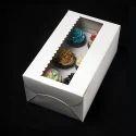 4SP 6 Cupcake Box with Window & Insert