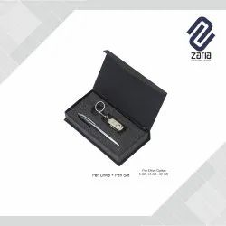 Promotional Metal Pen With Pen Drive