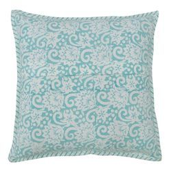 Floral Hand Block Printed Cushion Cover