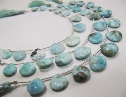 AAA Quality Natural Larimar Plain