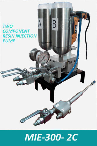 Resin Injection Grout Pumps Double Component Epoxy