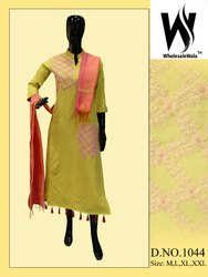 The Wholesale India Bazaar Printed Khadi Cotton Kurtis, for Dress