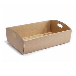 Brown Cardboard Tray