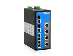 IES7110-2GC(10-Port 100M/Gigabit Layer 2 Managed Industrial Ethernet Switch)