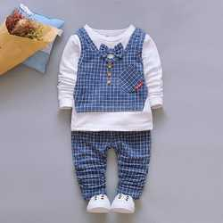 087269acb White And Blue Cotton Kids Boy Party Wear Baba Suit, Rs 650 /set ...