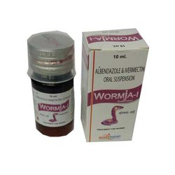 Albendazole 200 mg & Ivermetcin 1.5mg SUSP