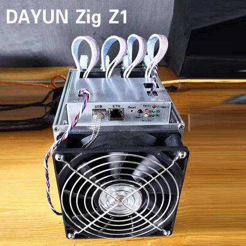 Dayun Zig Z1 Asic miner Lyra2REv2 algorithm 7 25GH/S mining