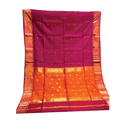 Dual Color Maheshwari Handloom Saree