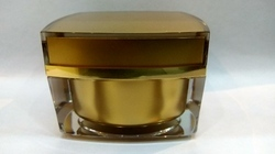 50 Gms Acrylic Square Cream Jar