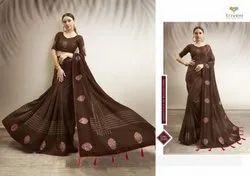 Triveni Saree Vanitha Vol 2 Fancy Fabric Saree