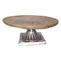Round Wooden Cake Stand