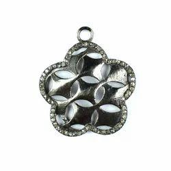 Pave Diamond Pendants