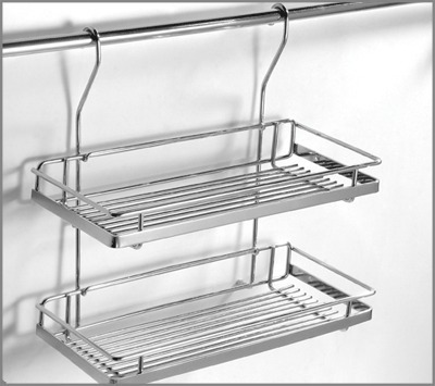 dcm double stainless steel ceiling mounted shelf advance x tabco