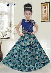 Kids Party Wear Designer Lehenga Choli