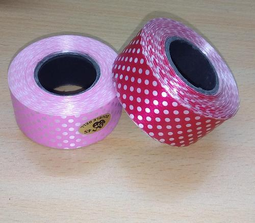 Dotted 4S Double Bell Dot Ribbon 25 mm x 20 Yard