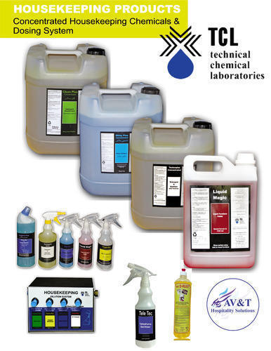 TCL Liquid Commercial Kitchen Cleaning Chemical, Packaging