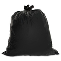 Black Disposable Plastic Garbage Bags, Capacity: Up To 12 Kg