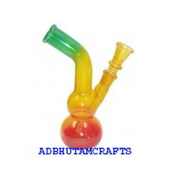 Rasta Glass Bong