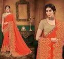 Silk Pallu Work Designer Sarees