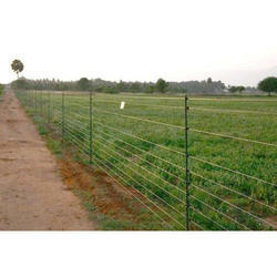 Solar Power Security Fencing System