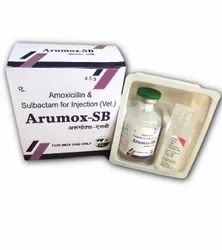 Amoxicillin And Sulbactam For Injection (Vet)