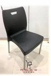 Plastic Silver Arrow Chair