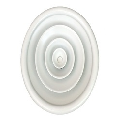Aluminium Cone Diffuser, Shape: Circular/Round