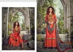 Designer Cotton Dress Material