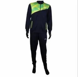 KD Li-Ning Track Suit - Navy and Lime