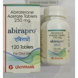 Abiraterone Acetate -Abirapro, Packaging Size: 120tablet, 250mg