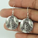 925 Sterling Silver White CZ Jhumka