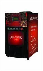 Atlantis Cafe Plus 4 Lane Hot Beverage Vending Machine