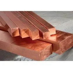 Copper Square Rods