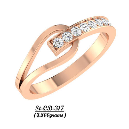 Ad Men Engagement Gold Ring