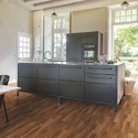 Quickstep Walnut Three Strip Laminate Flooring