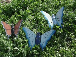 Garden Butterfly in Metal