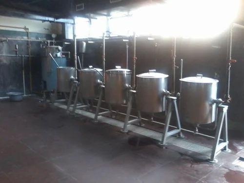 Tilting Boiling Station