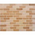 Mahogany Veneer Brick Tile