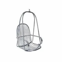 Modern Stainless Steel Hanging Chair