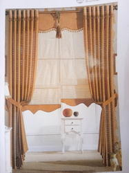 Embroidered Windows Curtains