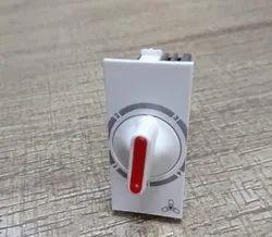4 Step Modular Fan Regulator, Pressfit, 100 - 120 W