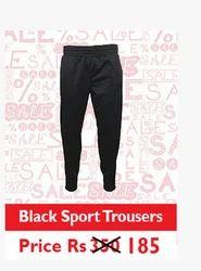 Black Sport Trousers