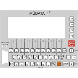 Mudata Textile Weaving Key Pad