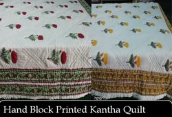 Handmade Jaipuri Blanket Trow Kantha Quilts