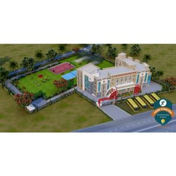 School Exterior Designing Services